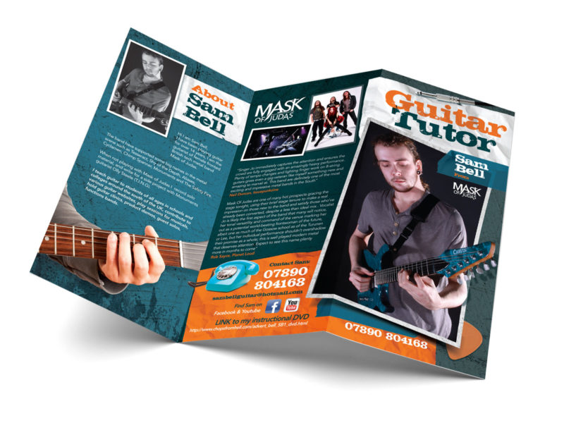 Guitar Tutor Sam Bell DL Design