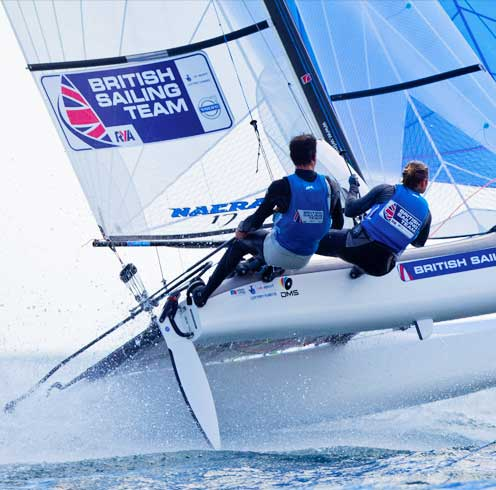 British Sailing team RYA Design