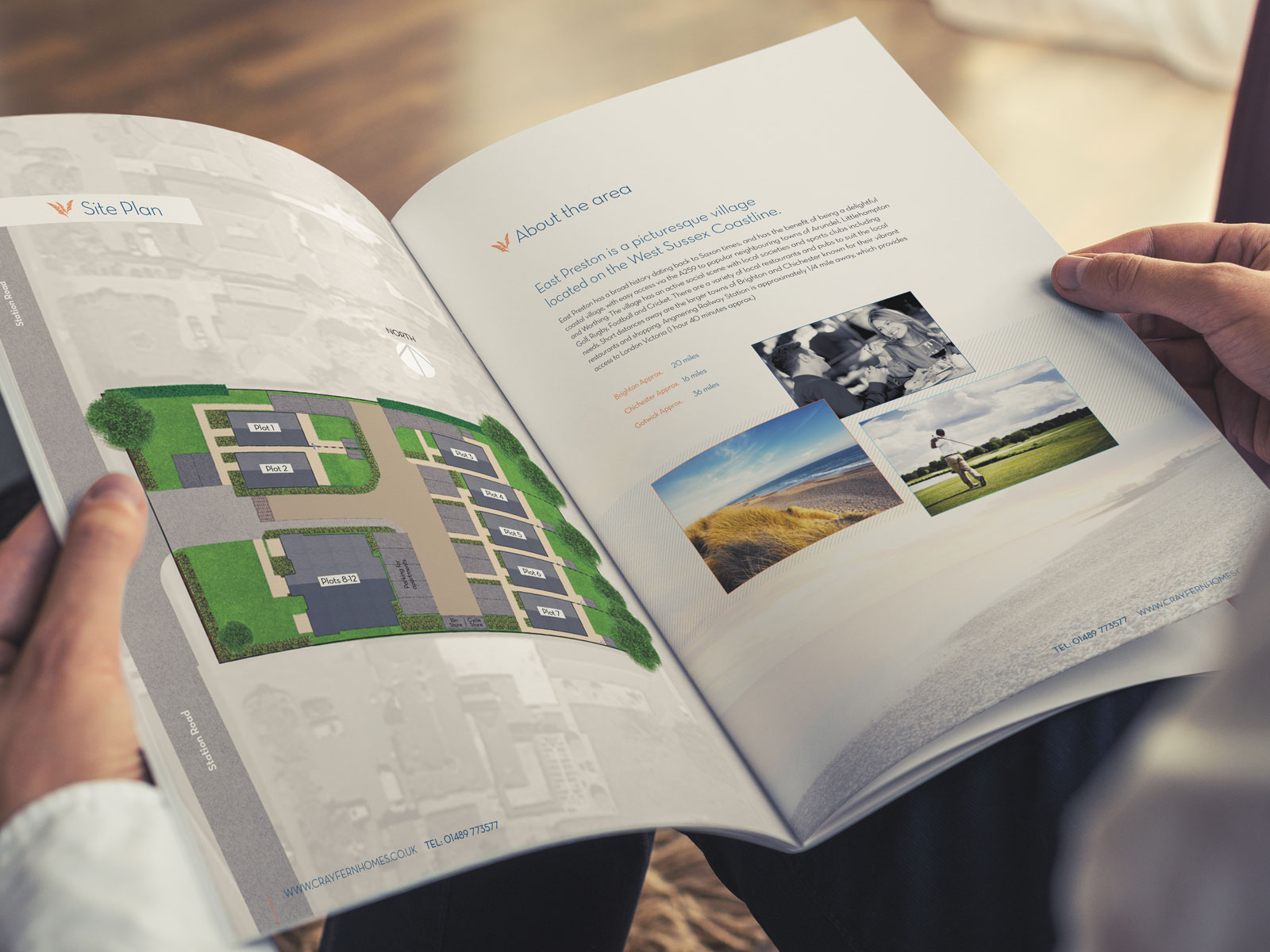Housing development brochure design