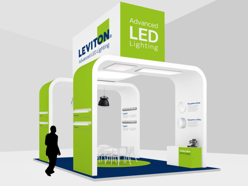 Technical product exhibition stand design