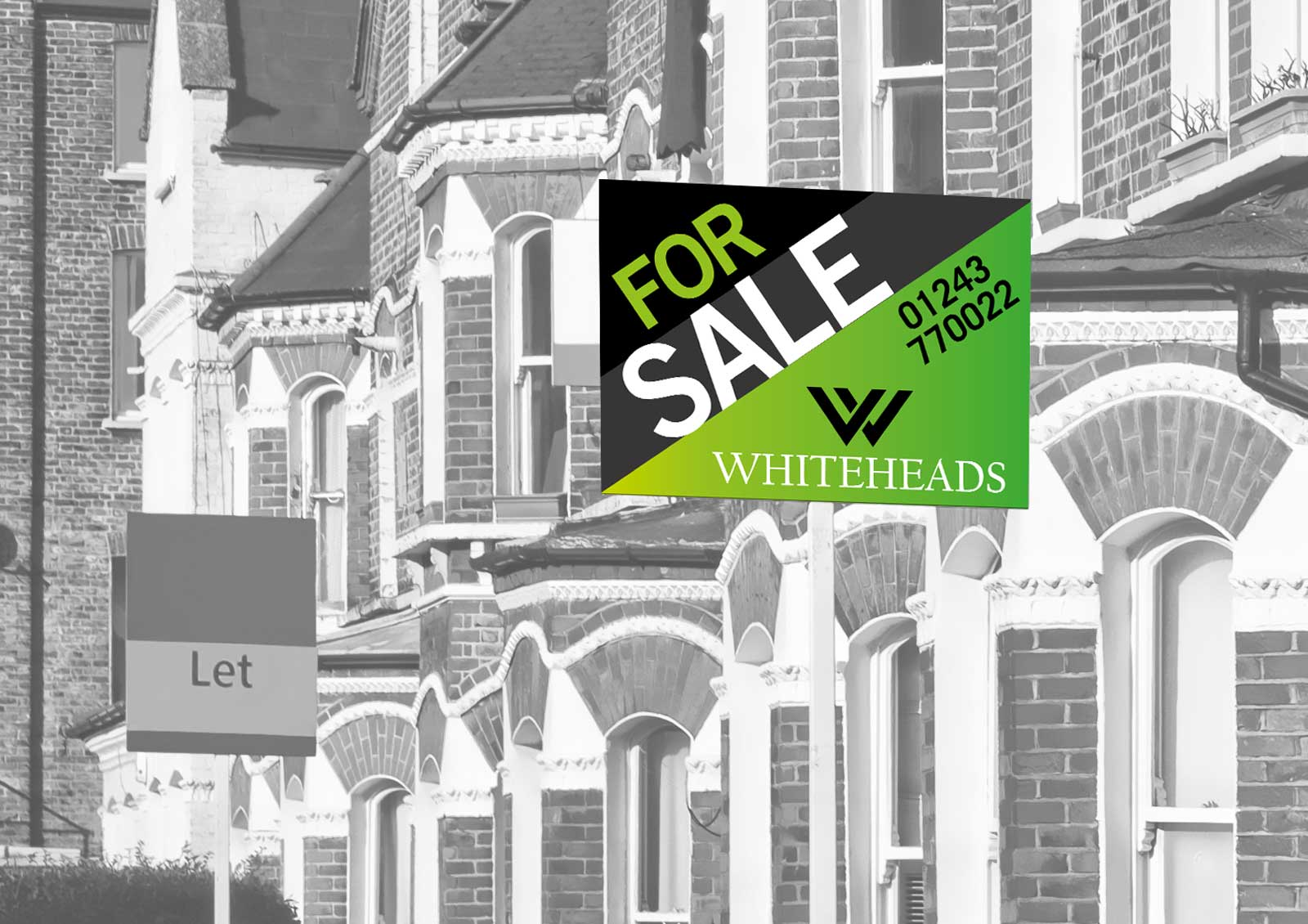 Whiteheads Estate Agents Frontside Design