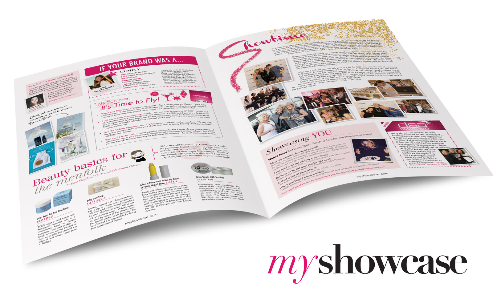 Fashion Newsletter design Chichester
