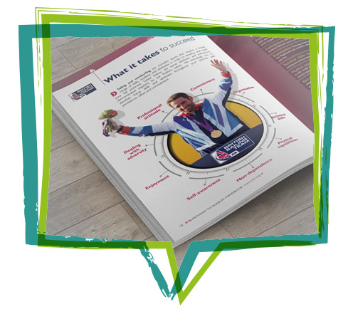 Freelance Graphic design brochure print Chichester